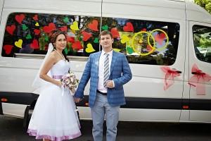 Аренда микроавтобуса на свадьбу в Алматы